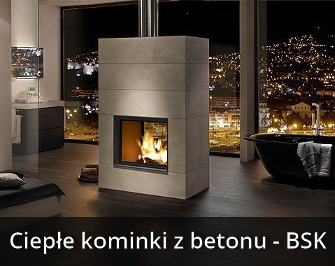 kominki systemowe brunner ciep e kominki z termobetonu. Black Bedroom Furniture Sets. Home Design Ideas
